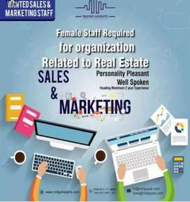 Real estate marketing jobs for male or female