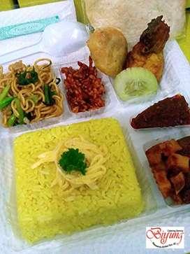 Nasi kotak nasi kuning nasi bungkus nasi rames dll