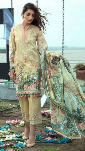 Eid ul azha embroidered lawn collection 2020 master copy