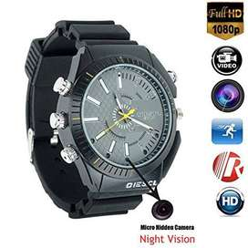 HD Spy Watch Hidden Camera DVR IR Night Vision Video Recorder