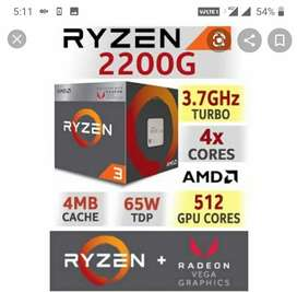 Ryzen 3 2200 / 8gb DDR4 / 1TB (Complete PC)