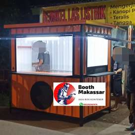Booth Semi Container (food & drink)