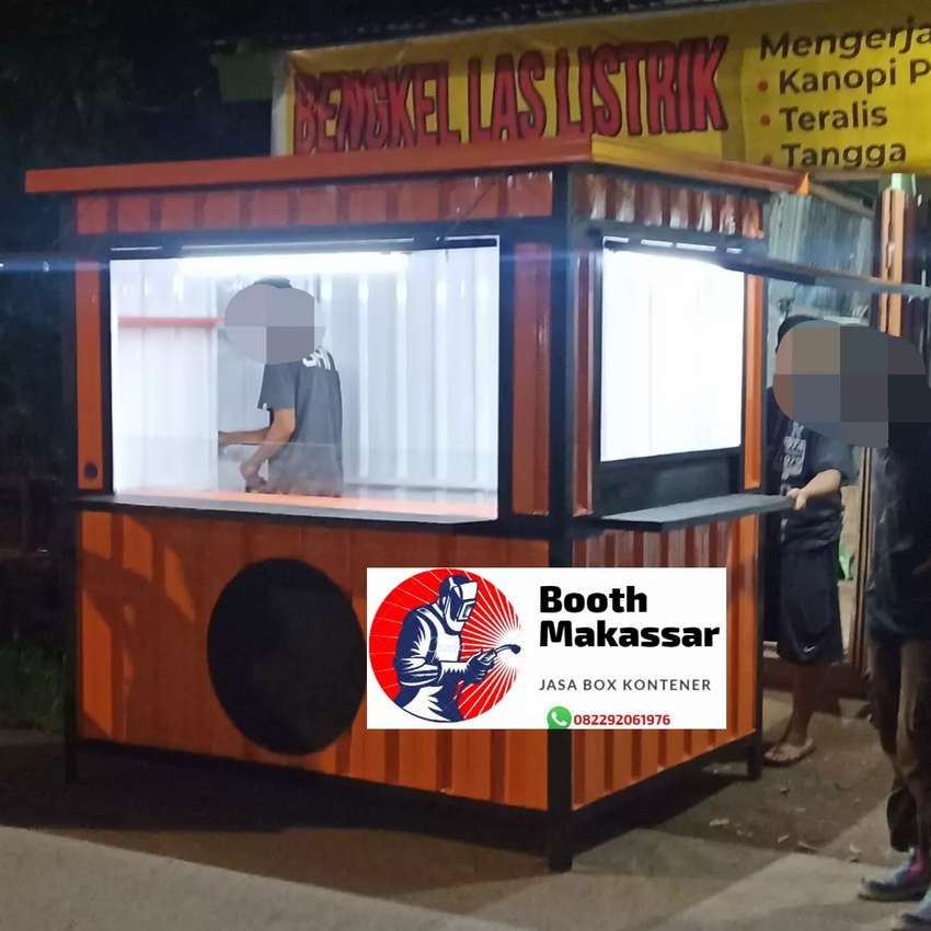 Booth Semi Container (food & drink) 0