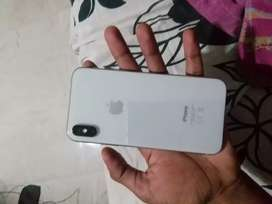 IPHONE X SILVER 64GB (BRAND NEW CONDITION)