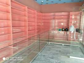 Glass counter for sale