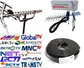 JASA PASANG BARU ANTENA TV UHF SIARAN NASIONAL