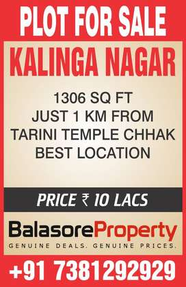 PLOT FOR SALE IN KALINGA NAGAR
