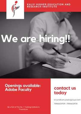 Adobe faculty