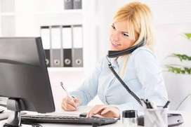 Office work female assistant