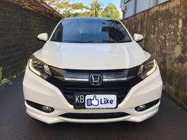 Honda HR-V 1.8 Prestige CVT tipe terlengkap 2015 Putih Orchid Mutiara