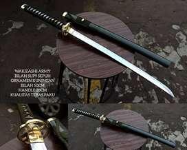 Samurai Wakizashi Army Tebas Paku