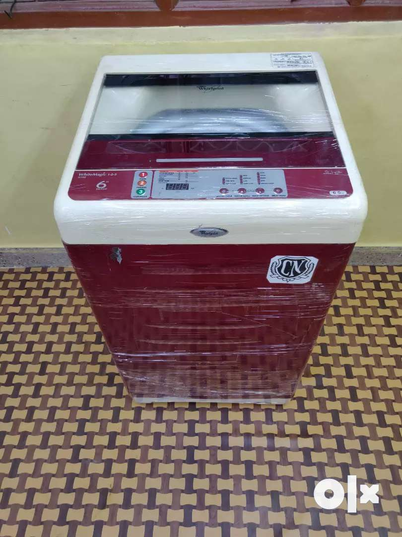 Whirlpool White magic 6.5kgs free home delivery 0
