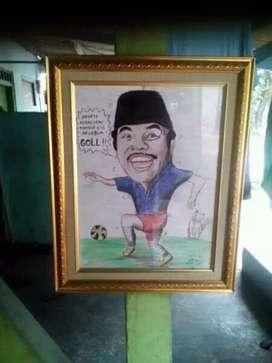 Karikatur Pencil Kado Istimewa, Murah