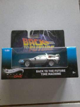 Hotwheels Back To Future Time Machine 1:50