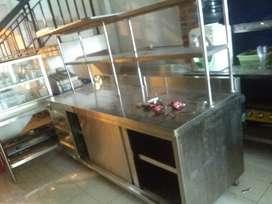 Preparation Table base cabinet n drawing Rinnai