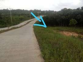 Di jual tanah di pinggir jalan poros utama km13 kariangau Balikpapan