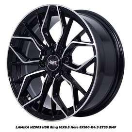Tukar Tambah Velg HSR Lamika R16 Buat Mobil Mobil Mazda2 dan Livana