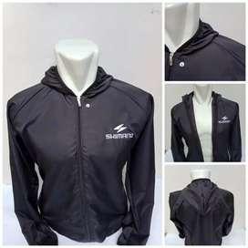 Jaket olahraga speda dan jogging