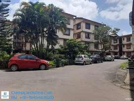 2Bhk Semi furnished flat in Sapana Garden near Angel Resort Porvorim