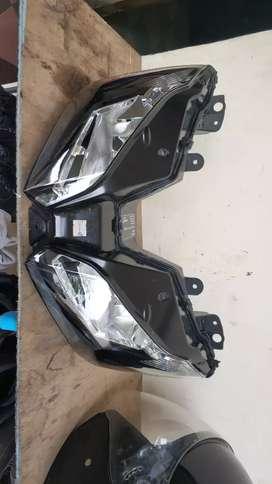 Headlamp / Batok Lampu Ninja 250 fi 2017