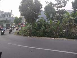 Tanah pinggir jalan malaka raya lebar 2 muka LT ±128m Cipayung Jaktim