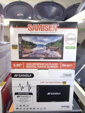 Plus pasang DobelDin Sansui Sa 5202i DVD full HD 1080