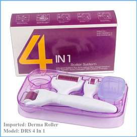Derma Roller 4 in 1, Lets Knock Out Skin problems.