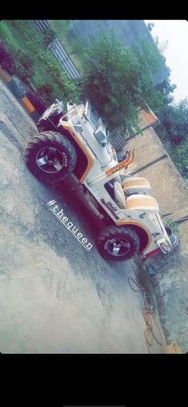 Jeep with balero engine