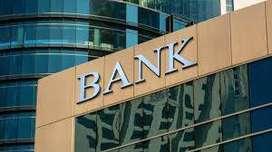 Bank job as a sales officer and customer service associates