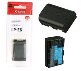 Baterai LP-E6 for Canon Dslr 5D 6D 7D 60D 70D Battery charger LC-E6