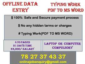 Real income with Secure career. All guarantee available for your job.
