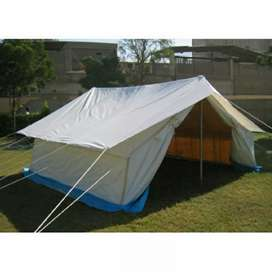 Labour tent and camps