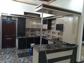 300 sq yards brand new luxury portion on 2nd floor with roof in jauhar