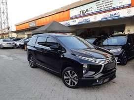 Mitsubishi Xpander Sport A/T Thn 2019 Hitam Metalik Kilometer Low