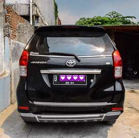 Avanza G 1.3 manual Hitam th 2014