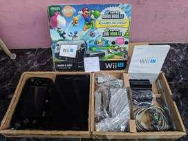 Nintendo Wii U Black 32GB Reg USA Mario Luigi Deluxe Set Fullset 1
