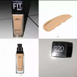 MAYBELLINE FIT ME FOUNDATION DEWY + SMOOTH 220