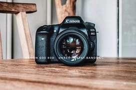 Kredit Kamera canon 80D Tanpa kartu Kredit Dp cuma 1.450k