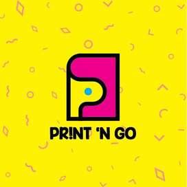 Lowongan Desain Grafis , Kasir , Finishing Digital Printing periodeOKT