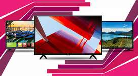 New Flat Screen Full HD Led TV || Smart TV With 1 Yr Warranty