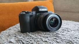 Canon m50 very very light uesd
