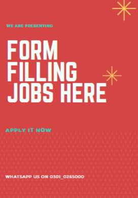 Form filling jobs to make you work online and earn cash from home