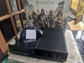 Xbox One Fat Black 500GB Fullset Bukan PS4