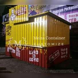 JASA BIKIN CONTAINER MURAH/ BOOTH KEDAI/ BOOOTH NONGRONG NGOPI *5