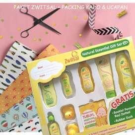 Zwitsal Baby Natural Set Spa Box - Hampers Bayi, Perlengkapan Mandi