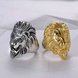 Pack of 1 lion head ring
