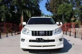 Toyota PRADO TX LIMITED AT 2010 Hitam ISTIMEWA BGT siap pakai DP LOW