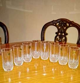 Gelas kristal (Cristal D'Arques Made in France)