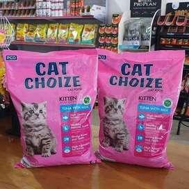 Makanan kucing Cat choize Kitten 1 KG