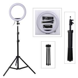 26cm Selfie Ring Light with Tripod Stand 7ft Tiktok and Youtube Videos